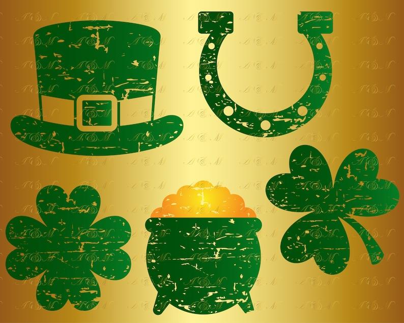 60 Off St Patrick S Day Grunge Svg Leprechaun Hat Etsy