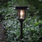 Shade Solar Light, Path or Garden, Mesa Lantern // Shade-1, Shade-2 , Shade-3 or Direct Sunlight