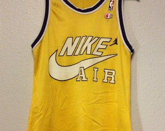 4be8285d631 Vintage 90s Bootleg Nike Sport Athletic Basketball Jersey Champion Men s  Small-Med   40