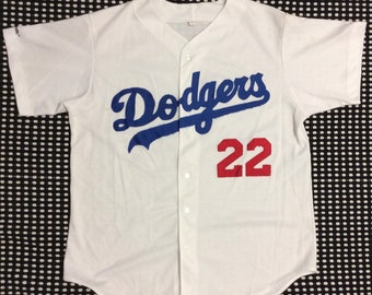 ca5523a4baf Vintage 80 s L.A. Dodgers Baseball MLB Jersey  22 Majestic Sz XL Made in USA