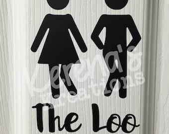 The Loo Bathroom Decal