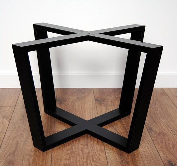 Metal Coffee Table Legs Modern Table Base Steel Table Legs Etsy