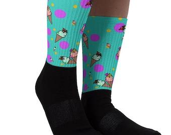 Ice Cream Happiness Socks