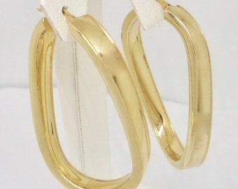 1398e2d33b810 Italy hoops gold | Etsy