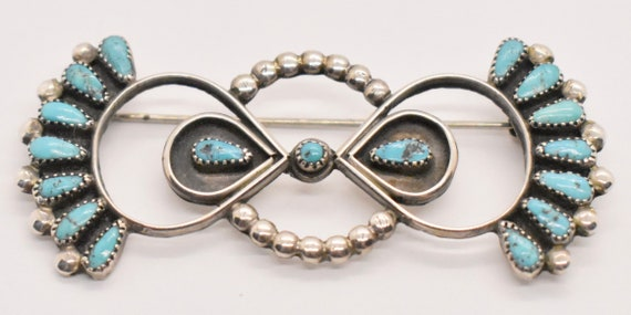 Vintage Silver Bow Brooch by Avon E10