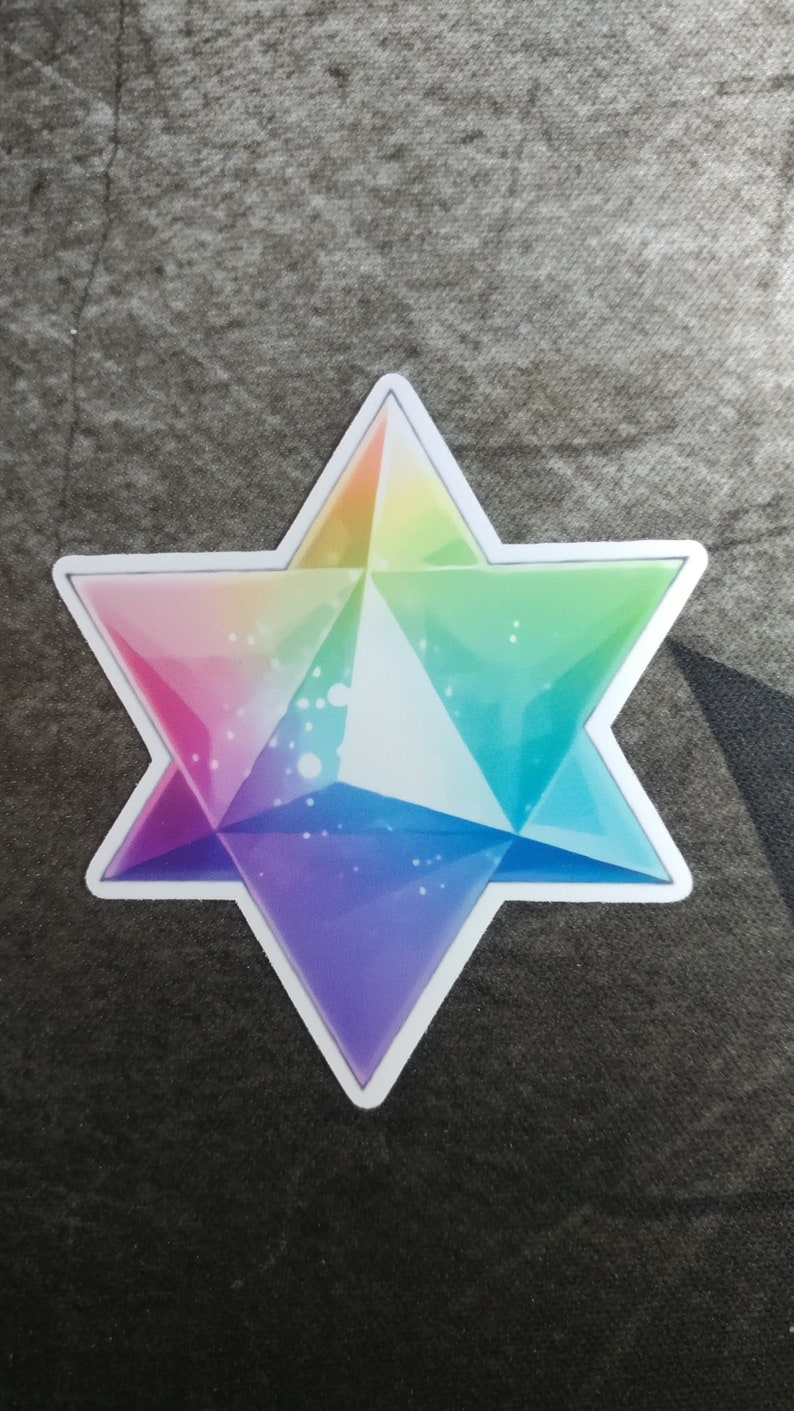Fate/Grand Order Saint Quartz Sticker - Water Resistant