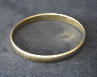Vintage 1960's Monet Gold Tone Bracelet