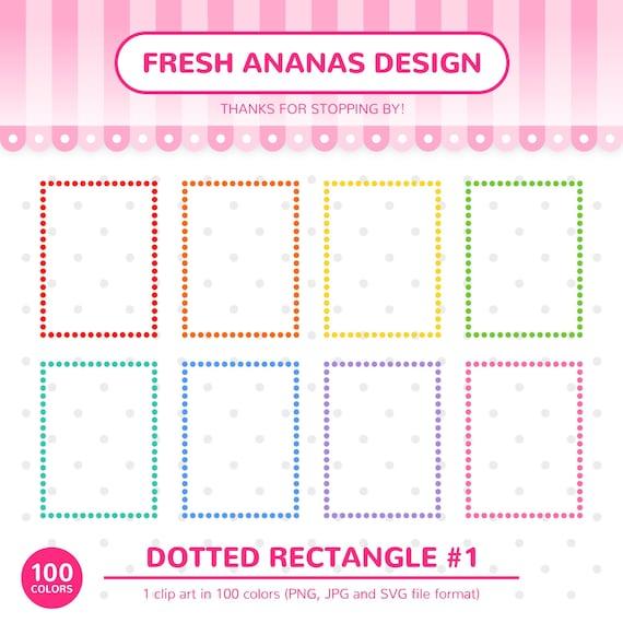 Vector Frame Rainbow Clip Art Tags Circle Heart Rainbow Frames Clip Art Square SVG Rainbow Digital Frames Rectangle