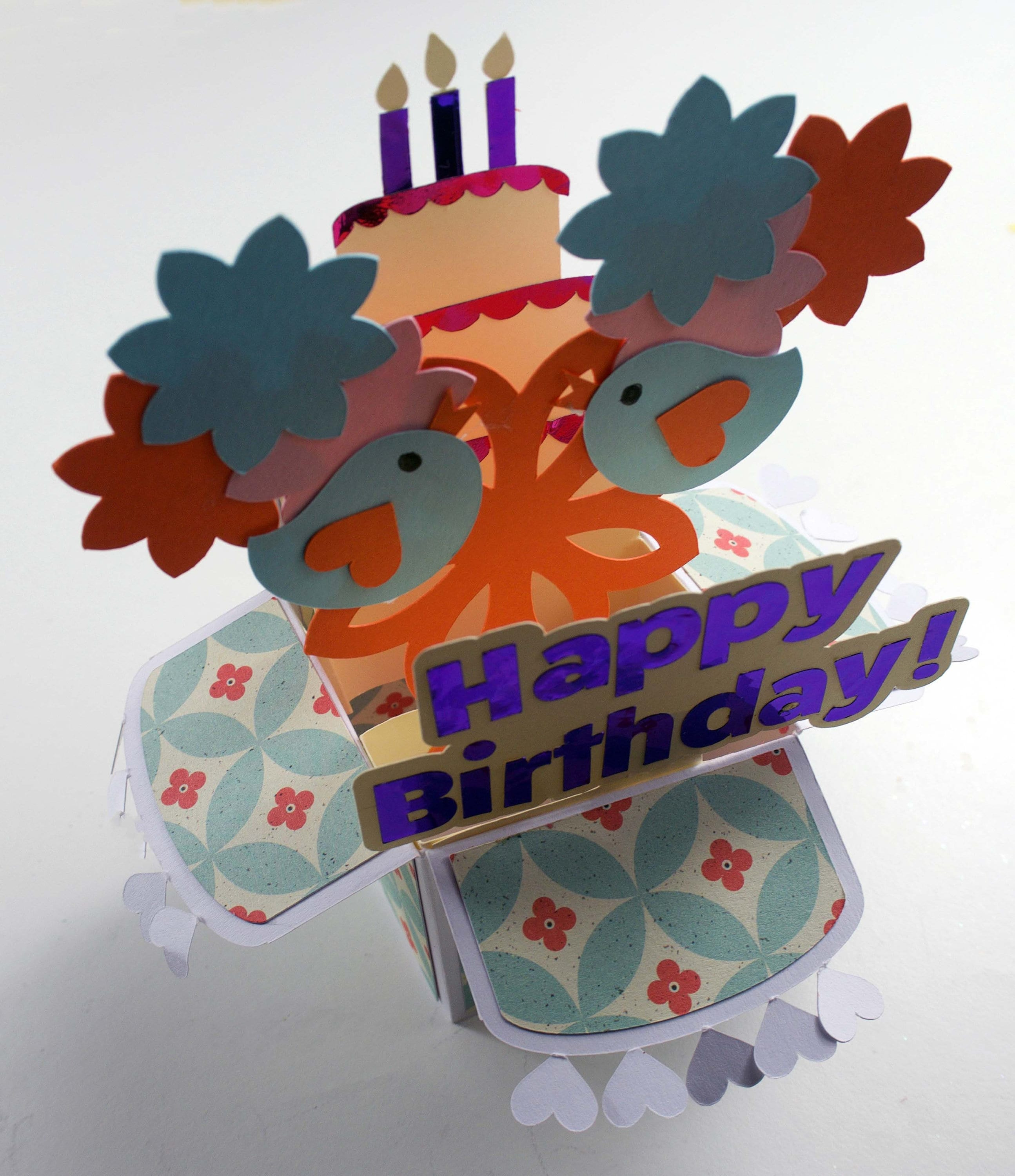 Pop Up Box Birthday Card Cricut Maker