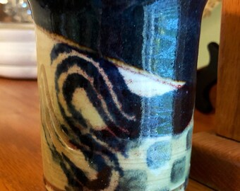 David Hendley Signed Pottery One Of A Kind Hand-Thrown Farmhouse Potter