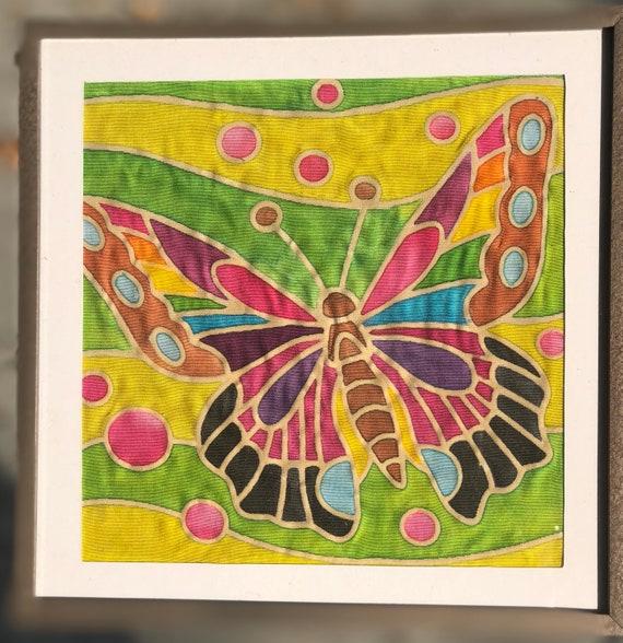 Batik Butterfly Fabric Painting Kit