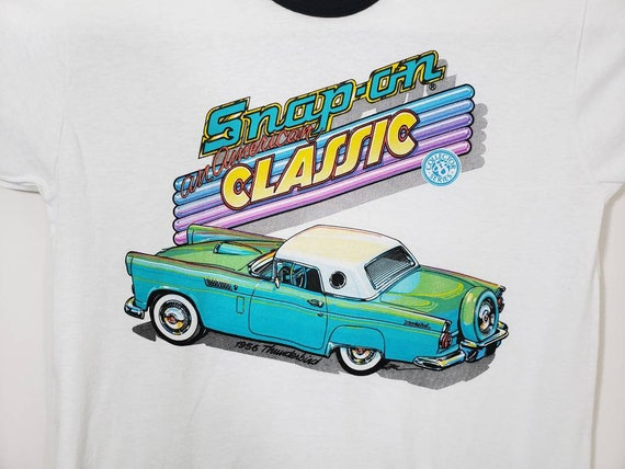 Vintage Snap On An American Classic Ringer Tee Shi