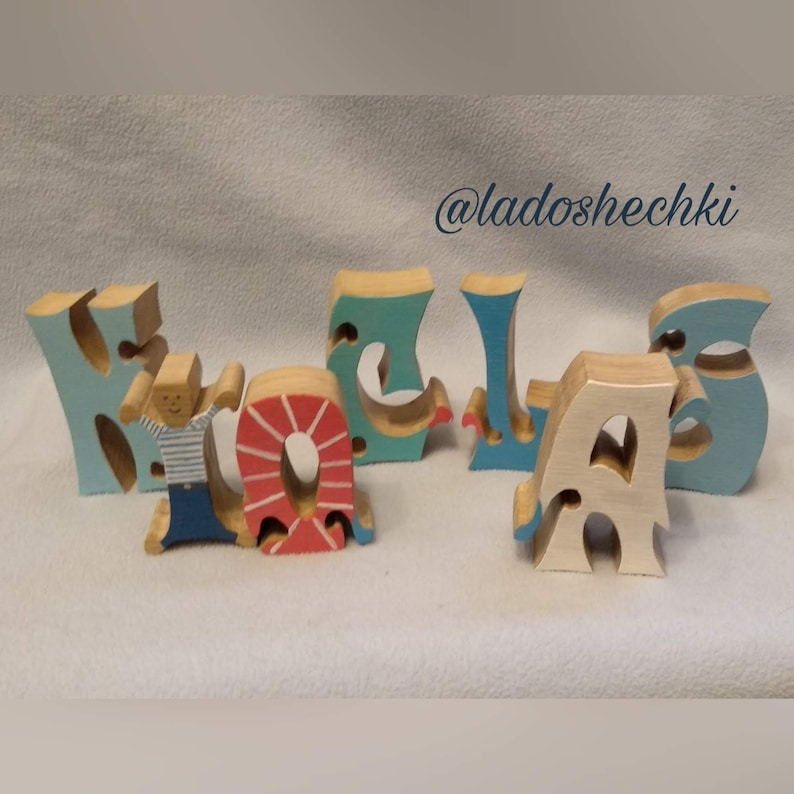 Custom Name Puzzle Personalized Gift Children name puzzle Newborn Gift \u2013 childrens decor Wooden Letter Puzzle Wooden Name Puzzle