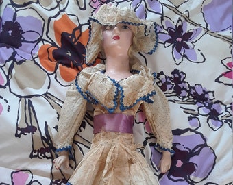 5dde1d0275a 1920s 1930s Boudoir Doll