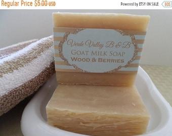 Wood & Berry Soap, Wood Berry Goat Milk Bar Soap, Wood Berry Goat Milk Soap Bar, Goat Milk Soap, Handmade Soap, Natural Soap, Vegan
