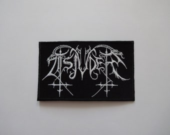 Black Thread Patches