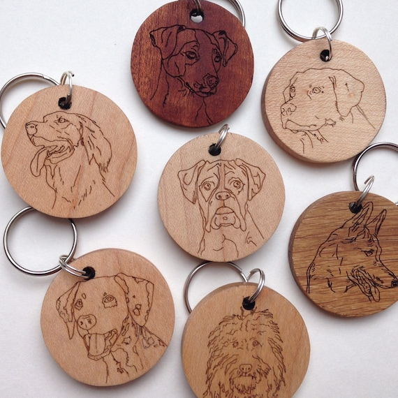 Ideal Present//Gift I Am Not Just a Dog Person I/'m a Labradoodle Daddy Keyring