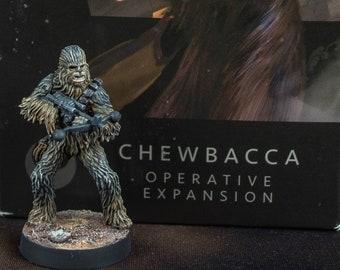 Star Wars Legion: Chewbacca, 1 painted miniature