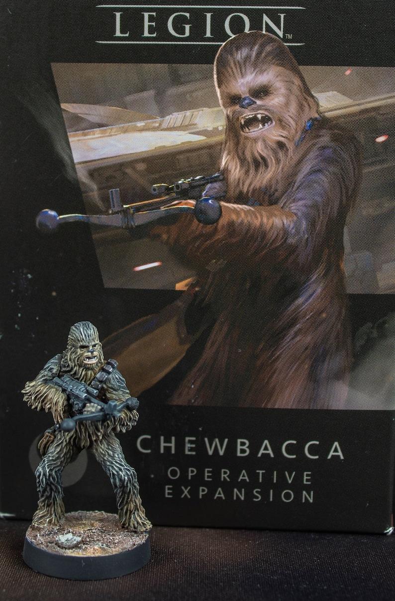 Star Wars Legion: Chewbacca 1 painted miniature image 1