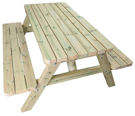 Cool Premium Heavy Duty Wooden Picnic Table Pub Bench Rounded Corners Pdpeps Interior Chair Design Pdpepsorg