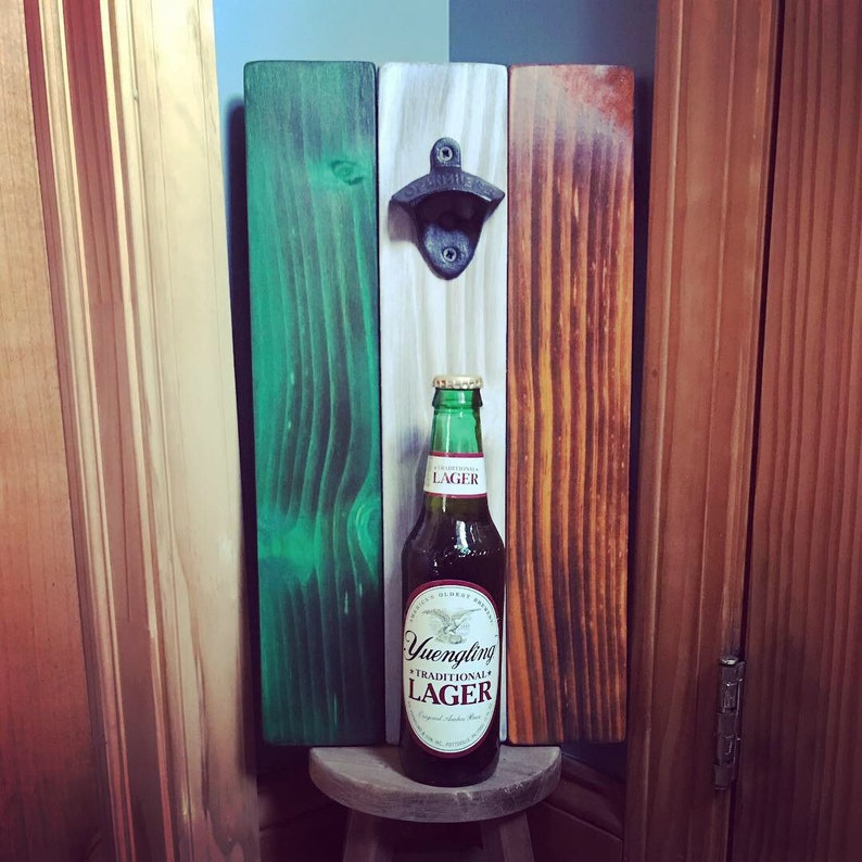 Irish Flag Bottle Opener