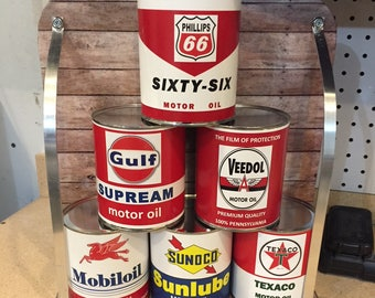 Reproduction Vintage Oil Cans