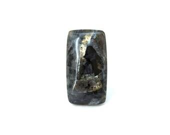 Larvikite natural stone cabochon 27 х 15 х 5 mm