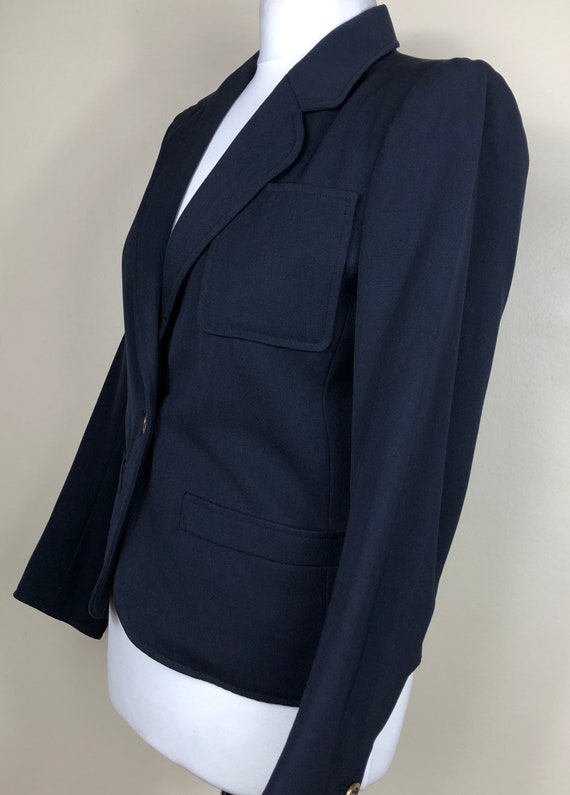 YVES SAINT-LAURENT Vintage Blazer Classic Short Na