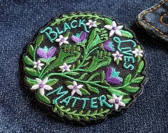 Black Lives Matter - Embroidered Patch