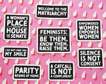Women's Rights Collection - Canvas Iron On Patches
