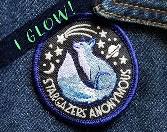 Stargazers Anonymous - Embroidered Patch