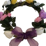 "Spring Wreath - Dainty 12"" -Passover or Easter Wreath"