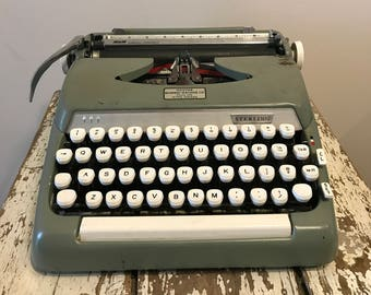 Vintage Sterling Type Writter