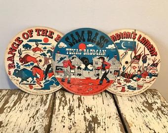 Vintage Cowboy Childrens Records