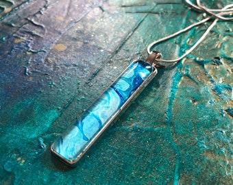 Water Pendant Necklace VI