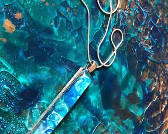 Water Pendant Necklace III