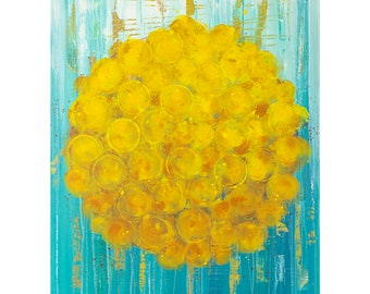 "Print - Marigold Sun - 11x14"""