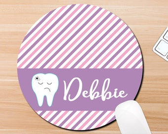 dental office decoration decorating dentist office mousepad desk accessories decorations personalized tooth mouse pad kids reception desk etsy