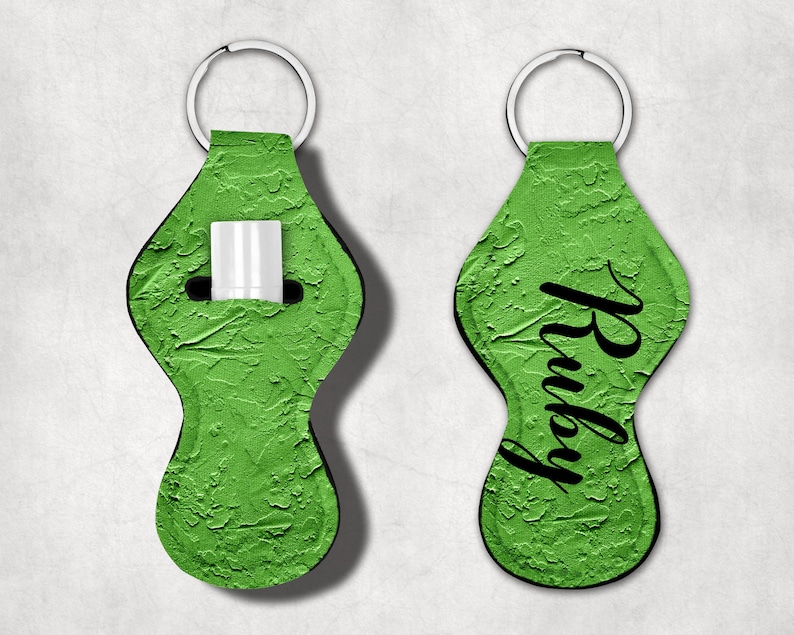 Lip Balm Holder Party Favor Customized Chapstick Holder Chapstick Keychain Lighter Holder