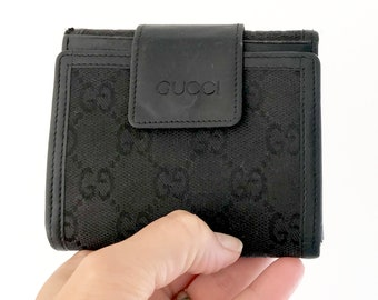 2b78c101b4a8 Authentic Gucci Wallet | Small Trifold GG Wallet
