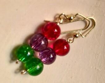 candy drops dangle earrings