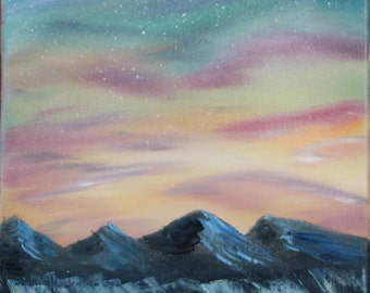 Starry Sky - Oil Painting