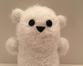 Polar bear plushie
