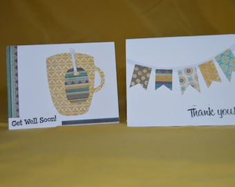 Set of two notecards