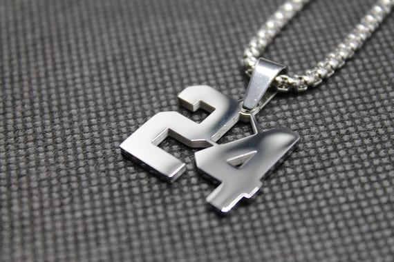 Available in 24 Numbers MadSportsStuff Custom Player Jersey ID Volleyball Necklace