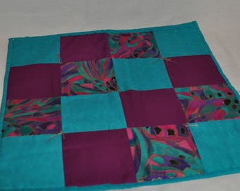 Quilted doll picnic blanket