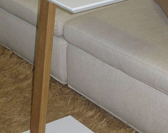 Coffee table low modern for living room for sofa pc/tablet