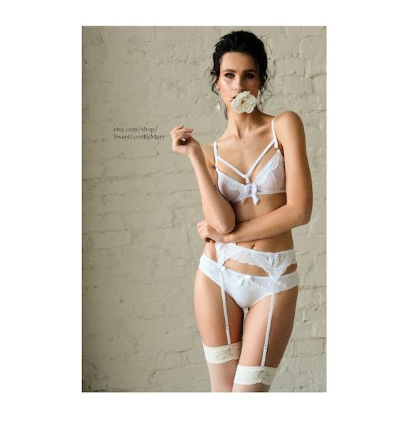 08e17d40b24d Honeymoon lingerie bridal nighty Sexy bridal lingerie for | Etsy