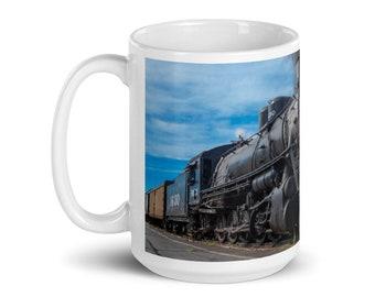 Steam Engine Mug Etsy