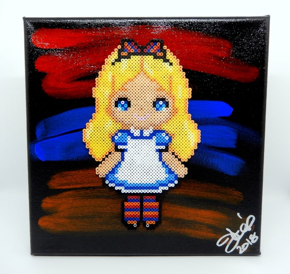 Alice In Hyeland Armenian Pixel Art 8x8 Made To Order Etsy